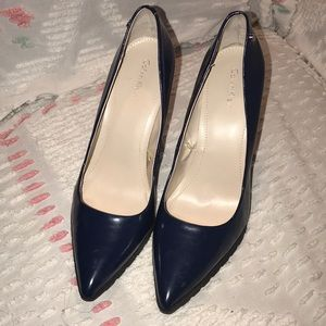 Calvin Klein heels. Navy color